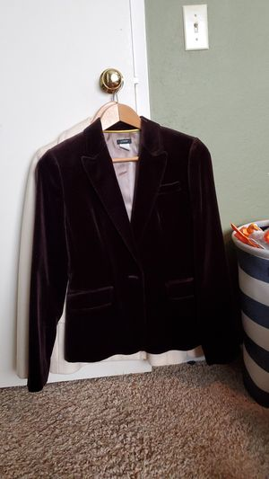 J Crew Brown velvet jacket for Sale in Coto de Caza, CA