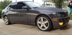 2001 LEXUS IS 300 GREAT CAR for Sale in San Antonio, TX