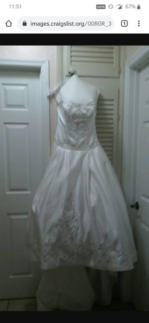 Wedding Dress for sale! for Sale in Miami Gardens, FL