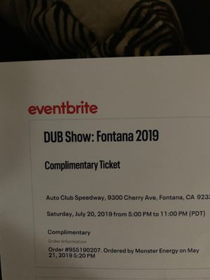 VIP Dub show tickets for Sale in La Verne, CA