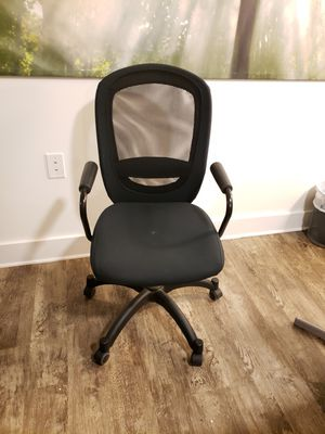 Great Office chairs- black for Sale in Alexandria, VA