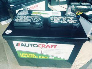 Lawnmower tractor battery for Sale in Oakland Park, FL