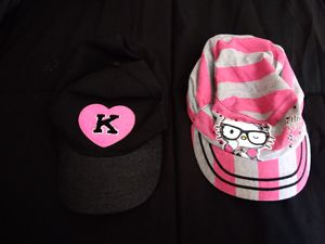 **Justice & Hello kitty girl caps** for Sale in Trenton, NJ