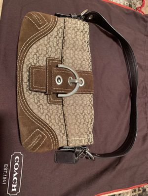 Coach Brown Purse Authentic for Sale in Winter Haven, FL