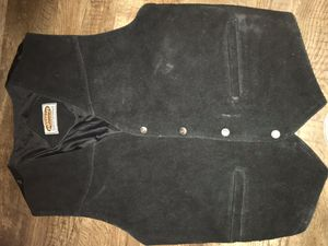 Suede motorcycle vest for Sale in Houston, TX