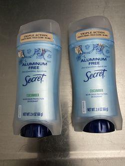 Secret Aluminum Free Deodorants  for Sale in Stockton, CA