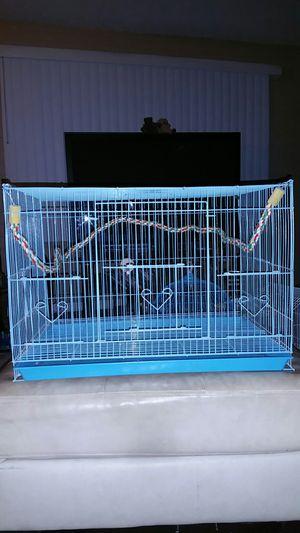 Blue bird cage for Sale in Phoenix, AZ
