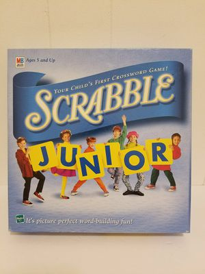 1999 Scrabble Junior Vintage Board Game MB for Sale in Queens, NY