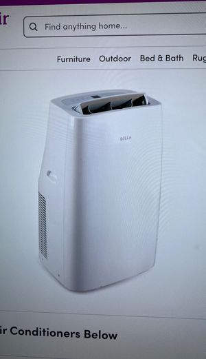 12,000 BTU PORTABLE AC AIR CONDITIONER, WHITE for Sale in City of Industry, CA