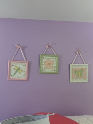 Decoration room for girls, beautiful frame .best offer available. for Sale in Aspen Hill, MD
