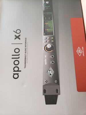 Apollo X6 Thunderbolt Audio Interface for Sale in Upper Marlboro, MD