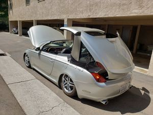 SUPER CLEAN Bagged Lexus SC430, V8, CONVERTIBLE, 92K MILES for Sale in Chula Vista, CA