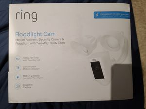 Ring Floodlight Camera for Sale in South Gate, CA