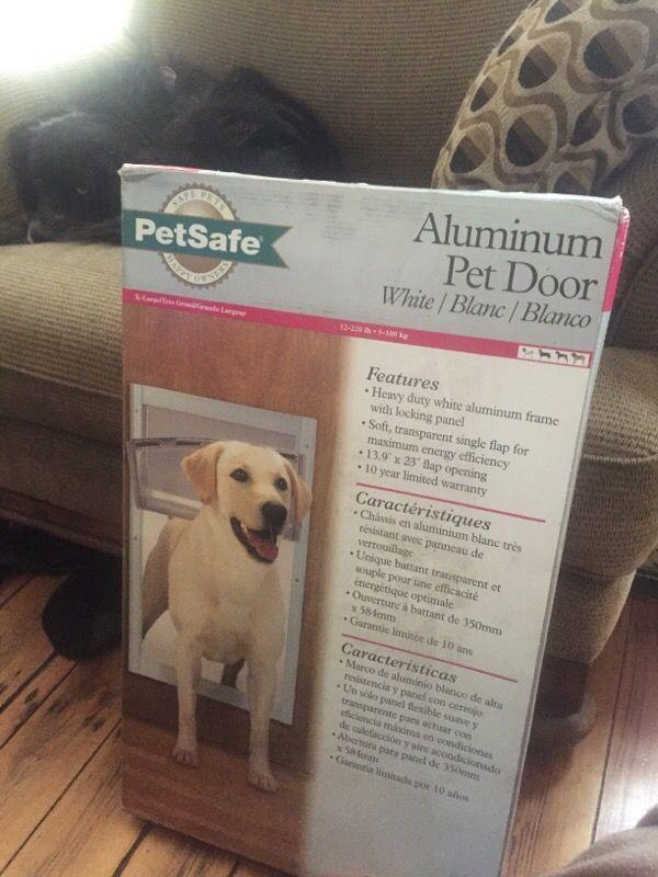 Pet safe large pet door