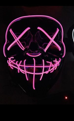 New Led Purge Halloween 👻 Mask Pick Up Only for Sale in Phoenix, AZ