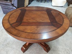 """Mandara 48"""" dining table with extension leaf for Sale in Decatur, GA"""