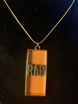 Pendant (RAP) Necklace(Please Read Description) for Sale in Seattle, WA