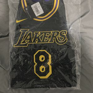 Lakers Kobe Bryant Youth City Edition Swingman Jersey S Black Mamba - Authetic for Sale in Garland, TX
