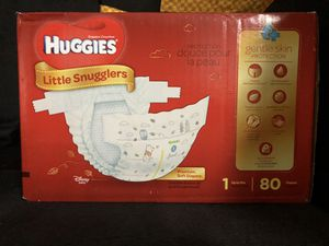 Huggies Little Snugglers - Size 1 for Sale in Miami, FL