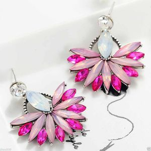 *NEW ARRIVAL* Elegant Crystal Rhinestone Pink Deco Stud Earrings *See My Other 300 Items* for Sale in Palm Beach Gardens, FL