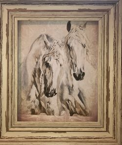 Framed print of horses for Sale in Durham,  NC