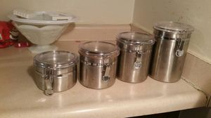 4 Stainless Steel Storage Containers for Sale in McKees Rocks, PA