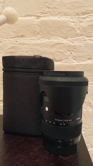 SIGMA 18-35 1.8 (Sony A Mount) for Sale in New York, NY