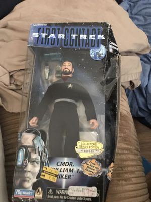 Star Trek First Contact Action Figure Commander William for Sale in Columbus, OH