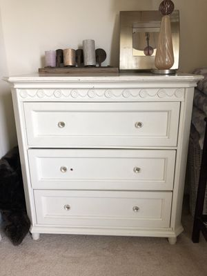 White Shabby Chic Dresser for Sale in Accokeek, MD