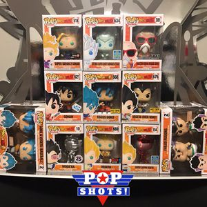 Dragonball Z 11-Pack Funko Bundle for Sale in Milwaukie, OR