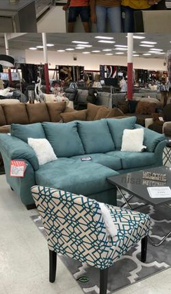 🍷$39 Down Payment . 🍷🍷SPECIAL] Darcy Sky Sofa Chaise for Sale in Beltsville,  MD