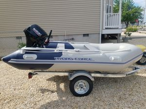 Brand New 11 Foot Hydro-Force Inflatable Boat for Sale in Brick Township, NJ