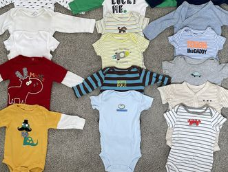 Various 3-6 months baby boy clothes. for Sale in Mercer Island,  WA