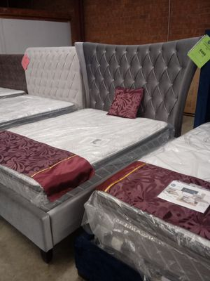 Queen Gabriela Bed Frame for Sale in Greensboro, NC