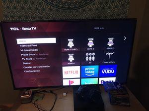 TCL Roku Tv 50 - 55 inch tv for Sale in Jonesboro, GA