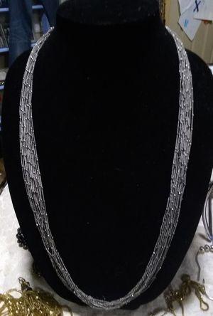 Premier Designs Silver-Tone Multi Strand Necklace for Sale in Mill Creek, WA