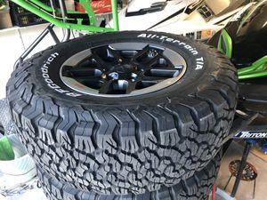 Jeep Rubicon Wheels Tires 285/70/R17 - $1275 (Chula Vista) for Sale in Chula Vista, CA