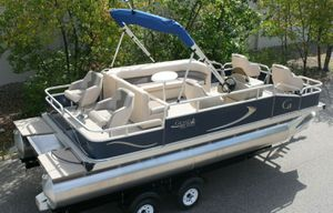 REDUCED-PRICE $1200$=2019 Pontoon 20 Grand Island G with Trailer!! for Sale in Scottsdale, AZ