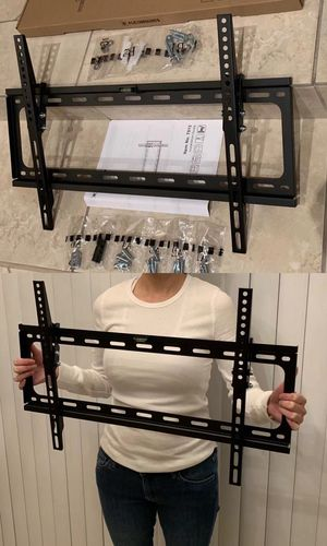 "NEW universal 32 to 65 inch LCD LED Plasma Flat Tilt TV Wall Mount stand 32 37"" 40"" 42 46"" 47 50"" 52 55"" 60 65"" inch tv television bracket with hardw for Sale in Covina, CA"
