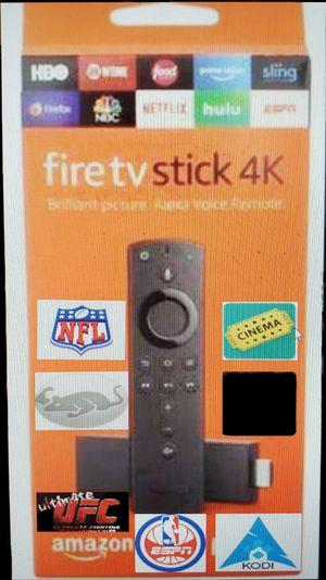 Fire tv stick 4k JB for Sale in Ponder, TX