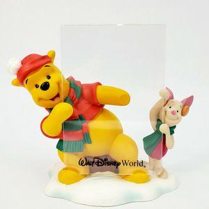 "Walt Disney World - Winnie The Pooh & Piglet - Winter Themed 6 3/4"" Photo Frame for Sale in Trenton, NJ"