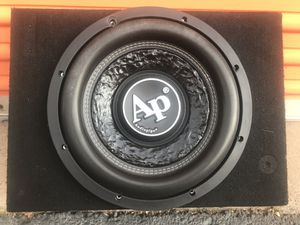 """12"""" audio pipe shallow subwoofer for Sale in Phoenix, AZ"""