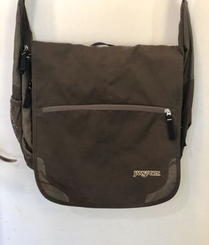 """Very gently used Jansport messenger bag. Bag has lots of padded storage,great for laptop. Perfect condition! Bag is 15""""x17"""" for Sale in Tolleson, AZ"""