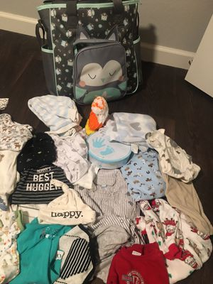NB & 0-3 month baby boy clothing for Sale in Dallas, TX
