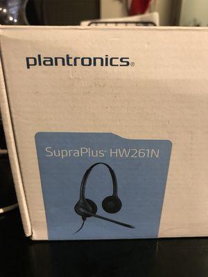 Plantronics SupraPlus HW261 Headsets for Sale in Seattle, WA