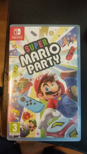 Super Mario Party Nintendo Switch for Sale in Grand Prairie, TX