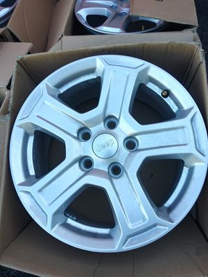 2020 Jeep Wrangler Wheels 5x5 lug pattern for Sale in Ephrata, PA