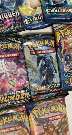 Pokémon Booster Packs,Evolutions,Cosmic Eclipse And More for Sale in Forest Park,  GA