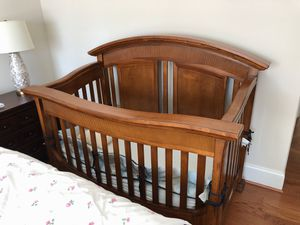 Solid wood crib and dresser for sale for Sale in Bethesda, MD