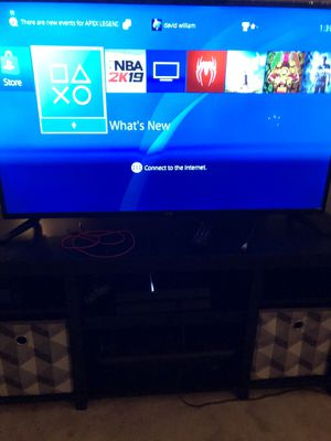 45 inch tv and PS4 bundle for Sale in Endicott, NY